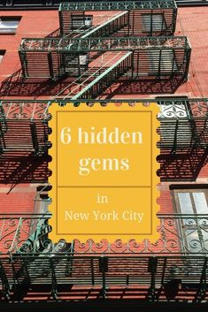 Looking for things to do in New York? Then you'll LOVE these six must see New York City hidden gems, guaranteed to make the next time you travel there INCREDIBLE! From the best kept secrets about the subway to the streets to see and apartments with surprises on the roof, make your city break unique with this round-up on The Stylish Traveler today.