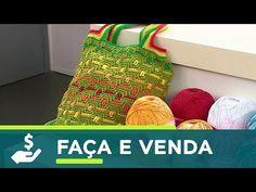 Vida com Arte   Bolsa Jacquard em crochê por Cris Vasconcellos - 28 de julho de 2017 - YouTube
