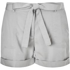 Phase Eight Esme Soft Shorts, Silver (460 ARS) ❤ liked on Polyvore featuring shorts, pants, silver shorts and phase eight