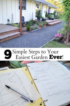 9 Simple Steps to Your Easiest Garden Ever - really! And the last step is to enjoy it, so take these easy DIY ideas and make this your gardening year! @gilmourgarden #ad #GilmourGardens #GilmourGardening