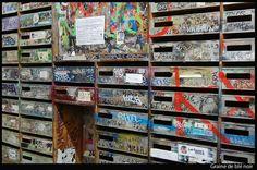 Les Frigos ou les boites à lettres