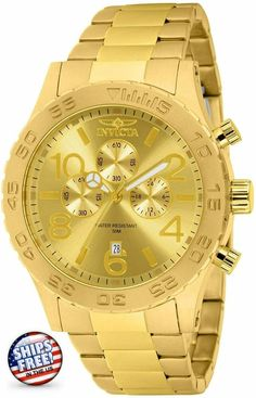 Stylish Watches, Luxury Watches For Men, Gold Models, Expensive Watches, Fashion Watches, Women's Fashion, Bracelet Watch, Gold Watches, Wrist Watches