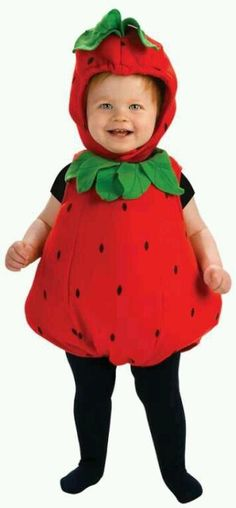 Little Strawberry Costume