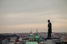 TG Masaryk looking out over Prague by Luke Rice on 500px