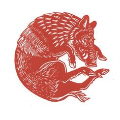 Red Boar Circle Linocut print limited edition of 20 Image size - 12 x 12 cm Paper size approx - 24 x 24 cm Paper - white Zerkall // Symbol of Diomedes Tattoo Brazo, Traditional Tattoo Art, Beste Tattoo, Design Graphique, Linocut Prints, Art Inspo, Painting & Drawing, Art Reference, Graphic Art