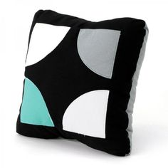 "Hidraulic series are inspired by the geometry of the hydraulic pavement found in old mediterranean houses Mix it with other cushions of the collection. It will give a special look to your favorite places.  100% Cotton Size: 35x35 cm (13.7x13.7"") Filling: 100% Polyester  No zipper  Designed and produced in Spain by Paparajote Factory Reference: 180101"