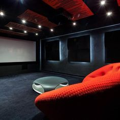 Home Theatre At Complete Home Automation we LOVE designing kick-ass home theatres. From the ground up we can provide you with a design which would include everything you have always wanted in your own home theatre and is completely customisable to your individual needs & budget. From the latest top of the line projectors to acoustic fabric wall paneling, we can provide you with a cinema experience in your own home.  www.completehomeautomation.com.au  #cctv #cameras #cha…