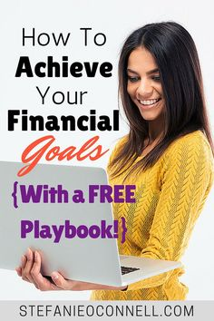 Learn how to achieve your financial goals and dreams! This is the same system I used to reach my goal of tripling my income last year and I'm using it again to re-triple this year!