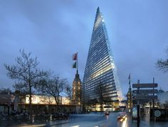 Paris's Controversial New Skyscraper Will Be a Glass Pyramid - Rendering Reveals - Curbed National
