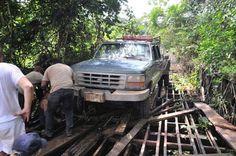 Exotische Reizen Suriname - Richting Apoera, west Suriname, Blanche Marie watervallen