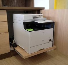Image result for pull out printer shelf study