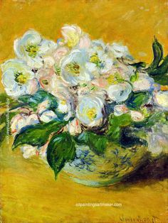 Claude Monet Christmas Roses, 1883 painting outlet online, painting