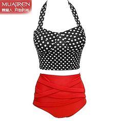 Beha+met+vulling+-+Halter+-+Vrouw+-+Bikini+(+Nylon/Overige+)+–+EUR+€+21.54