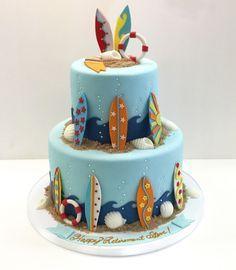 Image result for surf kayak cakes