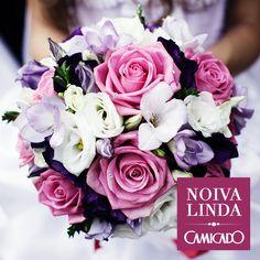 Noiva; Casamento; Camicado; Buquê; Flores; Decoração; Do It Yourself; DIY