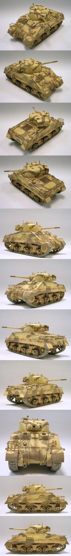 Plastic Model Kits, Plastic Models, Sherman Tank, Model Hobbies, Model Tanks, Armored Fighting Vehicle, Military Modelling, Ww2 Tanks, Military Diorama