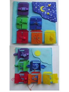 Quiet book page, Children's Quiet Book , Quiet book for toddler, Felt Busy book, Sensory book, Fine motor skills, Montessori toys