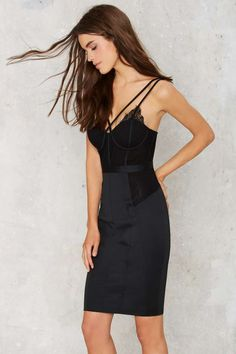 Nasty Gal Bust Out Lace Dress - Going Out | LBD | Dresses