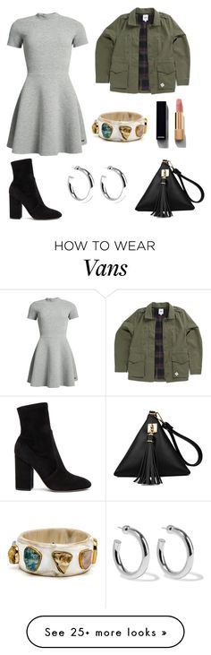 """My First Polyvore Outfit"" by realalah on Polyvore featuring Superdry, Vans, Valentino, Chanel and Sophie Buhai"