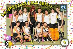 Hockey Cesped / Campeonas 5ta LICA 2015