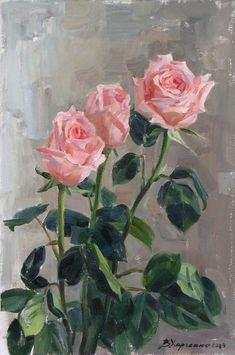 Харченко Виктория. Нежные розы