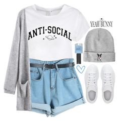 """Yeahbunny 14"" by emilypondng ❤ liked on Polyvore featuring adidas, Chicnova Fashion, Topshop and YeahBunny"