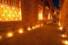 La noche de las velas en Pedraza