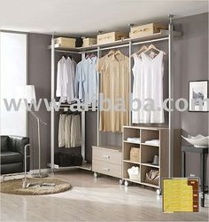 Walk-in-closet,wardrobe,system Closet,hanger Rack,furniture - Buy Custom…