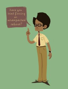 Maurice Moss, The IT Crowd