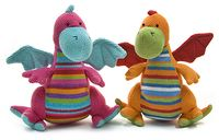 Knitted Dragon soft toys by Lily and George - Baby Nation the Online Baby Shop
