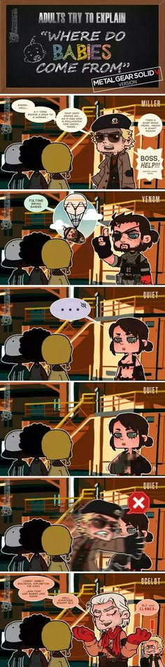 I love the Boss – Memes Metal Gear V, Metal Gear Games, Metal Gear Solid Series, Video Games Funny, Video Game News, Funny Games, Mgs V, Resident Evil Game, Military Humor