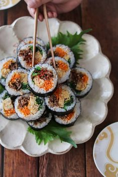 レシピ レシピ in 2019 Sushi Recipes, Asian Recipes, Cooking Recipes, Healthy Recipes, Ethnic Recipes, Cafe Food, Food Menu, Party Food Buffet, Food Wishes