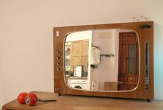 Recycled TV into Mirrors in diy accessories  with Vintage TV Recycled Mirrors