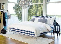 A Hastens bed. The ultimate in scandinavian luxury.
