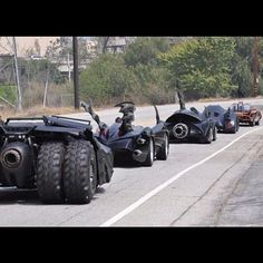 Batmobile(s).