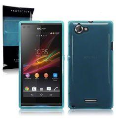 Back Cover Xperia L Ocean Turquoise - BCXPLOT