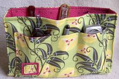 Free Handbag Patterns To Sew | Purse organizer Purse organizer recipe | The Giving Flower