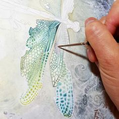 X Shadowscapes - Stephanie Pui-Mun Law Watercolour Tutorials, Watercolor Techniques, Art Techniques, Painting & Drawing, Dragonfly Art, Insect Art, Watercolor Paintings, Watercolours, Watercolor Images
