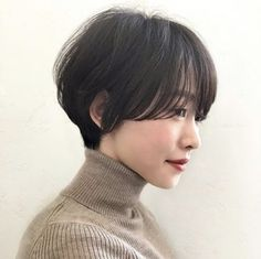 40 Ideas of Short Layered Haircuts 2019 - Short Asian Short Hair, Asian Hair, Girl Short Hair, Short Hair Cuts, Short Hair Styles, Tomboy Hairstyles, Short Hairstyles For Women, Hair Inspo, Hair Inspiration