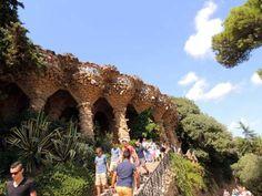 Viaductos del Parc Güell, Barcelona