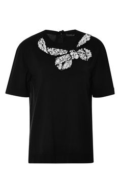 Embellished Wool-Blend Knit Top by Marc Jacobs