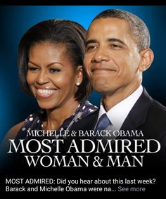 2018 Most Admired Woman and Man