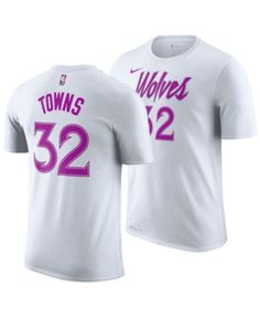 c273421df Nike Men Karl-Anthony Towns Minnesota Timberwolves Earned Edition Player T- Shirt