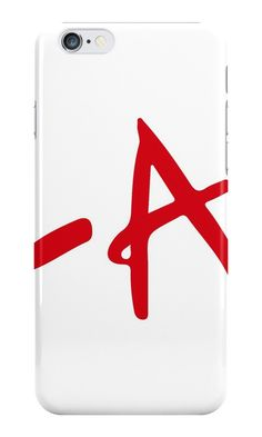 Our A' - Pretty Little Liars Phone Case is available online now for just £5.99. Fan of Pretty Little Liars? You'll love our 'A' PLL phone case. Material: Plastic, Production Method: Printed, Authenticity: Unofficial, Weight: 28g, Thickness: 12mm, Colour Sides: White, Compatible With: iPhone 4/4s   iPhone 5/5s/SE   iPhone 5c   iPhone 6/6s   iPhone 7   iPod 4th/5th Generation   Galaxy S4   Galaxy S5   Galaxy S6   Galaxy S6 Edge   Galaxy S7   Galaxy S7 Edge   Galaxy S8   Galaxy S8+   Galaxy J
