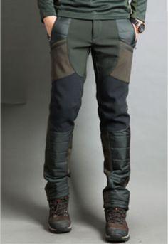 Men's Fleece Winter Hiking  Trousers