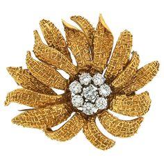 Van Cleef & Arpels Flower Brooch