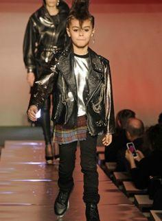 Moda  Adolescentes y Niños Elegancia  Estilo: Jean Paul Gautier - Niños