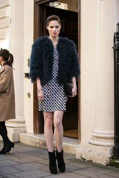 Coco Rocha At London Fashion Week