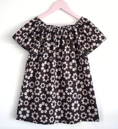 Butterfly Breeze Peasant Dress  Top INSTANT DOWNLOAD PDF Sewing Pattern for Toddlers and Girls: Sizes 1-8