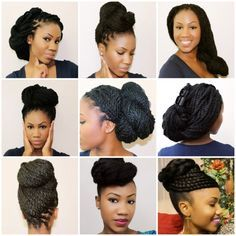 styles for box braids/senegalese twists